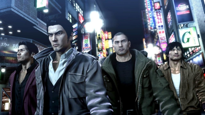 Yakuza 5 Remastered ora disponibile