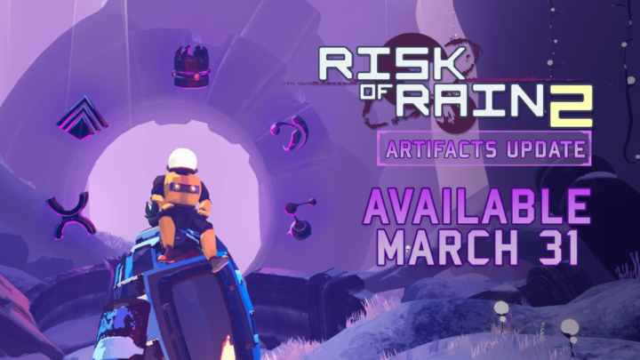 Risk of Rain 2 Update ! Hidden Realms (Console) Live ora e