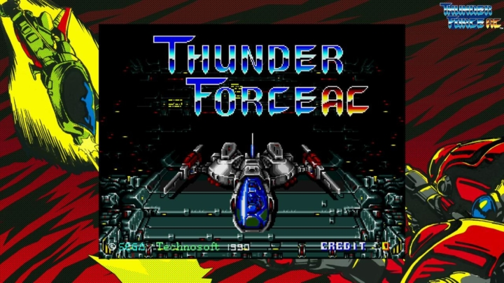 SEGA AGES Thunder Force AC in arrivo su Nintendo Switch